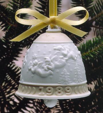 1989 Christmas Bell (l.e. Lladro Figurine