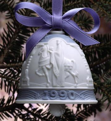 1990 Christmas Bell (l.e. Lladro Figurine