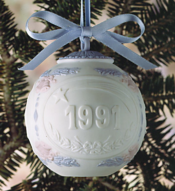 1991 Christmas Ball (l.e. Lladro Figurine
