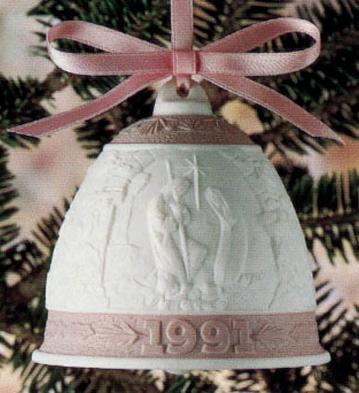 1991 Christmas Bell (l.e. Lladro Figurine