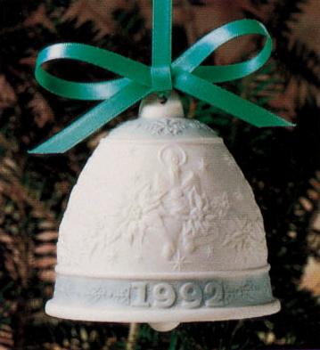 1992 Christmas Bell (l.e. Lladro Figurine