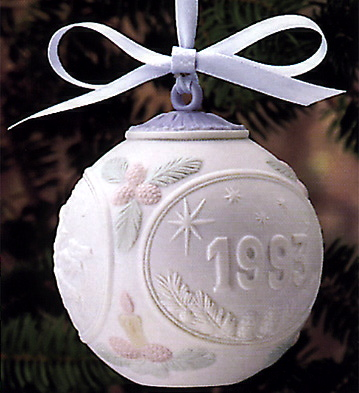 1993 Christmas Ball (l.e. Lladro Figurine