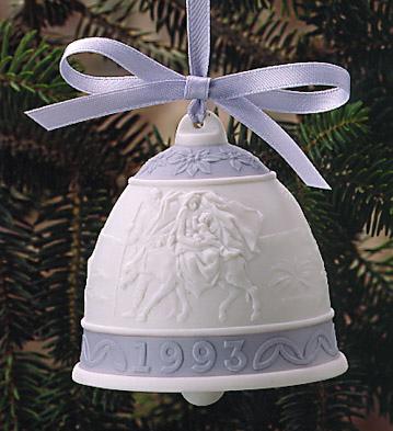 1993 Christmas Bell (l.e. Lladro Figurine