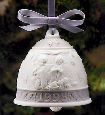 1995 Christmas Bell (l.e. Lladro Figurine