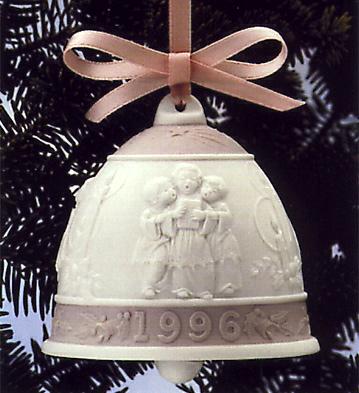 1996 Christmas Bell (l.e. Lladro Figurine