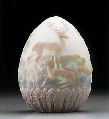 1996 Limited Edition Egg Lladro Figurine