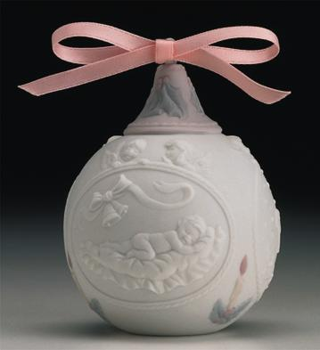 1997 Baby's First Christmas Lladro Figurine