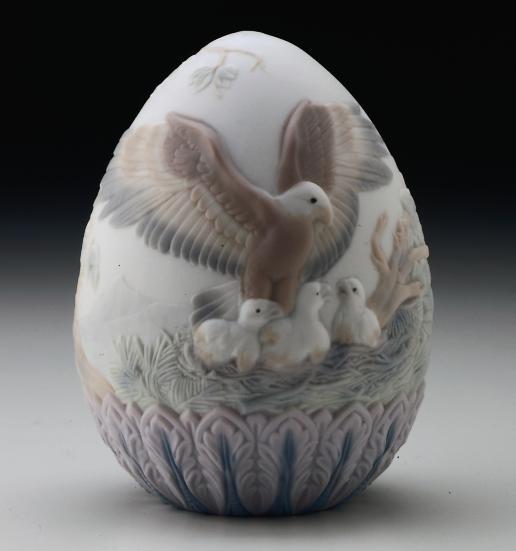 1997 Limited Edition Egg Lladro Figurine