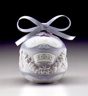 2000 Christmas Ball Lladro Figurine
