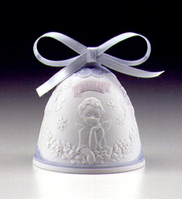 2000 Christmas Bell Lladro Figurine