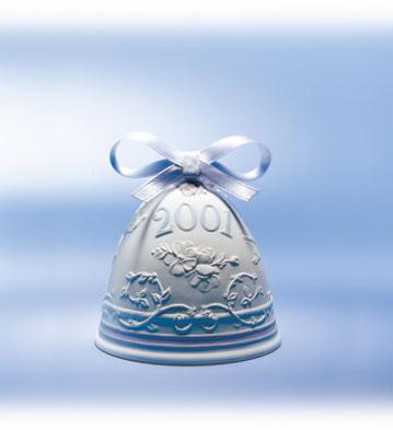 2001 Christmas Bell Lladro Figurine