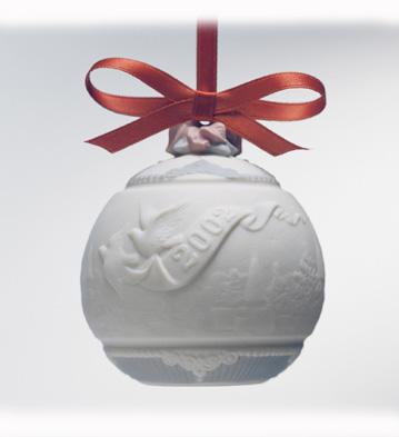 2002 Christmas Ball Lladro Figurine