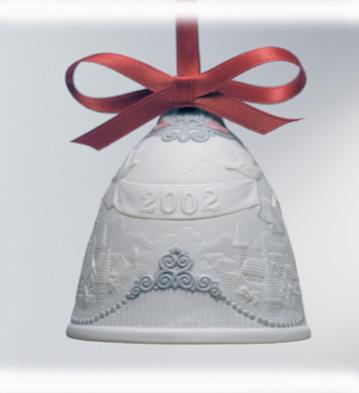 2002 Christmas Bell Lladro Figurine