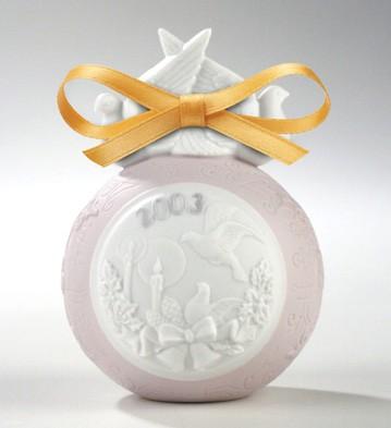 2003 Christmas Ball Lladro Figurine