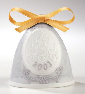 2003 Christmas Bell Lladro Figurine