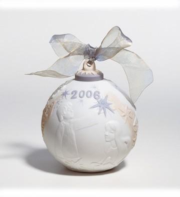 2006 Christmas Ball (matte) Lladro Figurine
