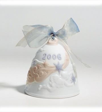 2006 Christmas Bell (glazed) Lladro Figurine