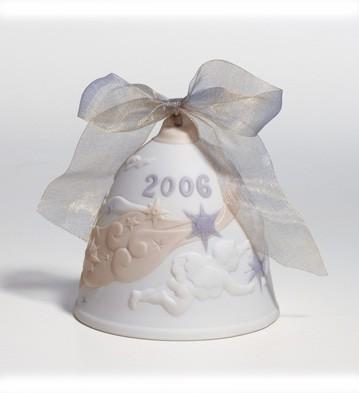 2006 Christmas Bell (matte) Lladro Figurine