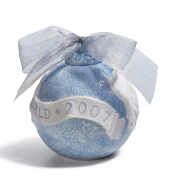 2007 Christmas Ball Lladro Figurine