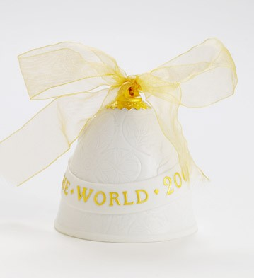 2007 Christmas Bell (re-deco) Lladro Figurine