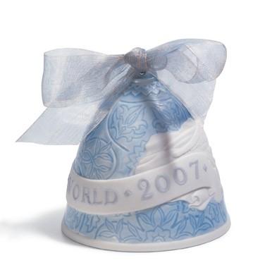2007 Christmas Bell Lladro Figurine