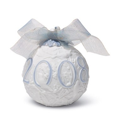2008 Christmas Ball (matte) Lladro Figurine