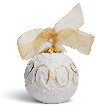 2008 Christmas Ball (re-deco) Lladro Figurine