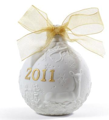 2011 Christmas Ball (re-deco) Lladro Figurine