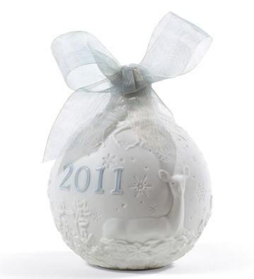 2011 Christmas Ball Lladro Figurine
