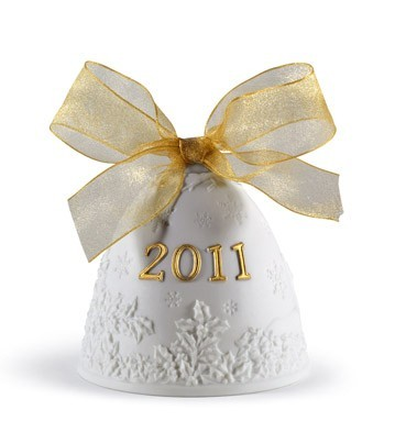2011 Christmas Bell (re-deco) Lladro Figurine