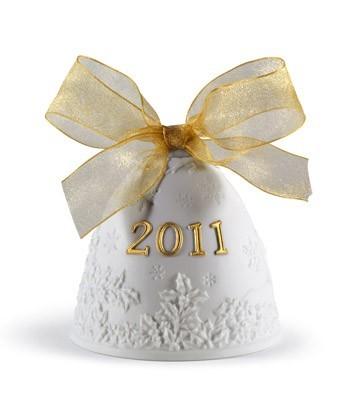 2011 Christmas Bell (re-deco) Lladro Figurine