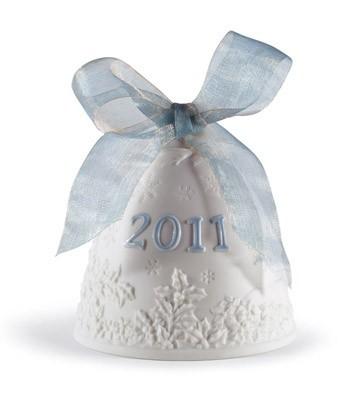 2011 Christmas Bell Lladro Figurine