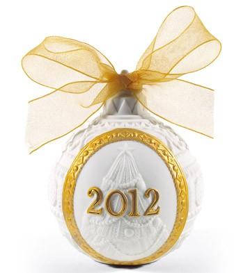 2012 Christmas Ball (re-deco) Lladro Figurine