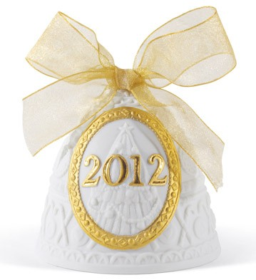 2012 Christmas Bell (re-deco) Lladro Figurine