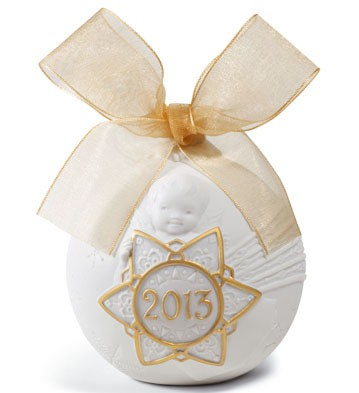 2013 Christmas Ball (re-deco) Lladro Figurine