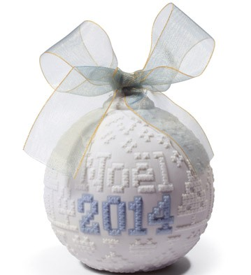 2014 Christmas Ball Lladro Figurine