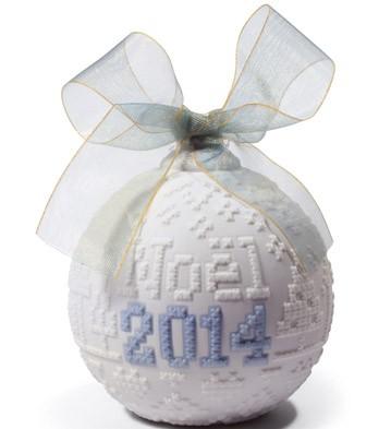 2014 Christmas Ball Lladro Figurine