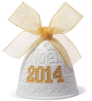 2014 Christmas Bell (re-deco) Lladro Figurine