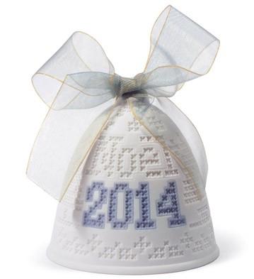 2014 Christmas Bell Lladro Figurine