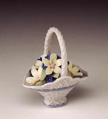 A Basket For You Lladro Figurine