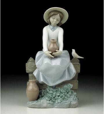 A Brief Rest Lladro Figurine