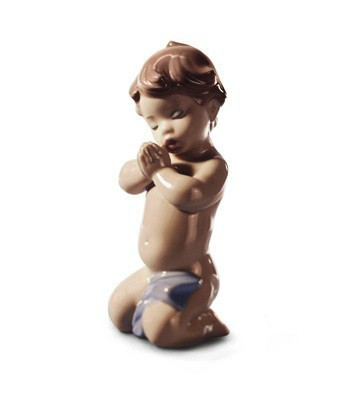 A Child's Prayer Lladro Figurine