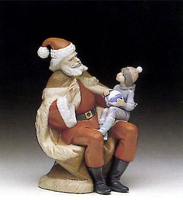 A Christmas Wish Lladro Figurine