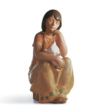 A Comforting Friend Lladro Figurine