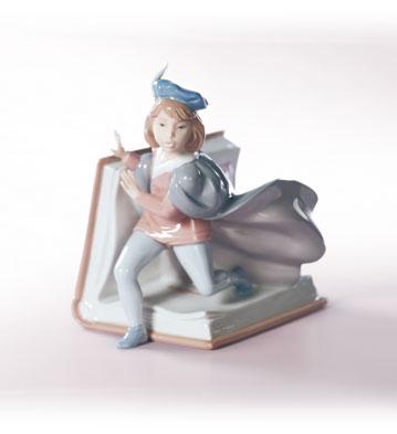 A Fairy Tale Prince Lladro Figurine