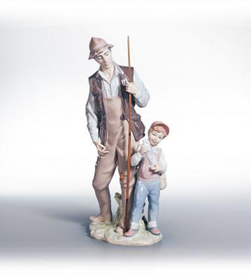 A Father's Pride Lladro Figurine