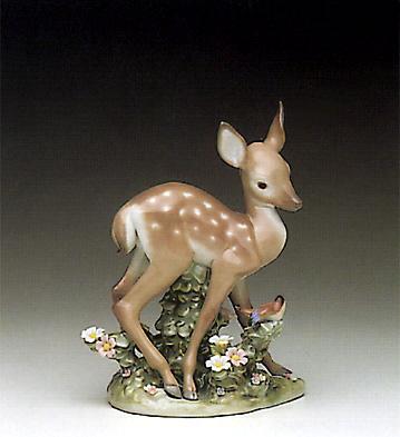 A Faun And A Friend Lladro Figurine