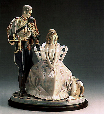 A Flower For My Lady (b) Lladro Figurine