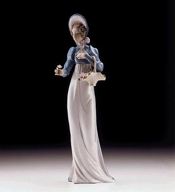 A Flower For You Lladro Figurine
