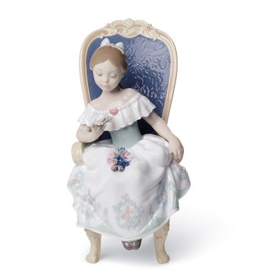 A Gift From My Sweetheart Lladro Figurine